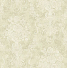 Carta da parato con disegno di valige antiche colori caldissimi DecoEasy 21510-2