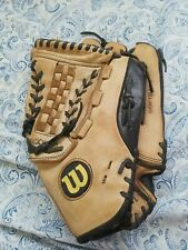 """WILSON A650 SOFTBALL GLOVE 13 1/2"""" Right Hand Thrower ECCO LEATHER"""