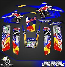 yamaha warrior 350 decals graphics stickers full kit atv