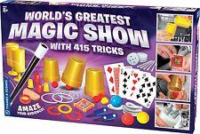 World's Greatest Magic Show With 415 Tricks Thames & Kosmos 698100