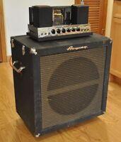 Vintage Ampeg B-18-N Portaflex Tube Bass Amplifier - Serviced