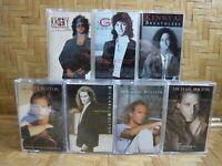 MICHAEL BOLTON Soul Time Timeless You KENNY G Breathless Cassette Tape Lot x 7