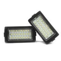 2 X LED Éclairage pour Plaque D'Immatriculation BMW E38 Lampe Xenon
