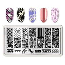BORN PRETTY Nail Art Stamping Plates Lace Flower Pattern Image Templates BP-L020