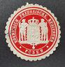 Siegelmarke Vignette Koeniglich Preussische Regierung Posen (8019-3)