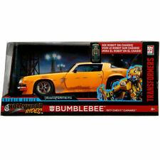 Jada 1977 Chevrolet Camaro Transformers 1:24 99383 Bumble Bee Yellow