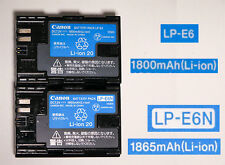 LP-E6N / LP-E6 LP E6N Battery For Original Canon EOS 5DS R 5D Mark II III 6D 7D