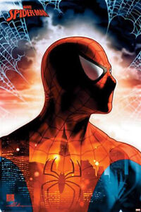 Spider Man Protector Of The City Marvel Poster