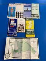 Vintage New Jersey Road Maps AAA, Gulf, Mobil, Hagstrom, GSP, Turnpike guide