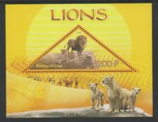 Kongo - 2014, 1200f Löwen Blatt - MNH
