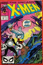X-Men 248 Marvel 1989 1st Jim Lee Art on X-Men vf/nmt