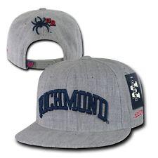 Gray University of Richmond Spiders NCAA Flat Bill Snapback Baseball Hat Cap