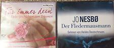 2x Hörbuch Paket Hörbücher Krimi Thriller Der  Fledermausmann Charlotte Link
