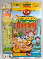 Cereal box THE Wild Thornberry's Empty box year 2000 Free Shipping  Post