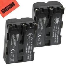 BM NP-FM500H 2X Batteries for Sony Alpha a77II, SLT-A57,A58,A65V,A77V,A99V,A100