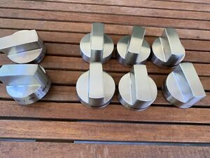 """THERMADOR/BOSCH STAINLESS STEEKL KNOB SET 8PC FOR 36""""PRO HARMONY RANGE #KP5R88"""