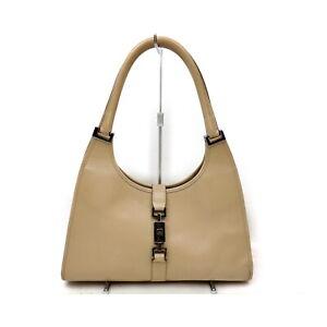 Gucci Shoulder Bag  Beiges Leather 1538277