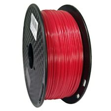 3D Printer Filament PETG Material 1.75mm 2.2LB 1KG Spool Red Printer Material