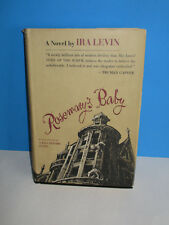 1967 Rosemary's Baby Book by Ira Levin HC w/ DJ Book Club Edition