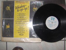 LP PROMO AT THE WHISKEY A GO GO  J.LEE HOOKER JIMMY REED J. BUTLER G. KNIGHT VG