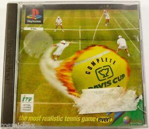 DAVIS CUP - COMPLETE TENNIS jeu video sport pour console PlayStation psx ps1 ps2