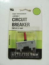 Littelfuse C81502.7, 2.75A Trip, 1.8A Hold, Circuit Breaker, 81502.7, NOS