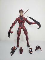 "Marvel Select Carnage 8"" Cletus Kasady Symbiote Spiderman Villain Legends Figure"