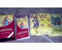 Cartas El Tarot de los Templarios_ 78 cartas XL BOX + Libro_New Sealed