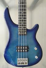 E-Bass blau 4-Saiter