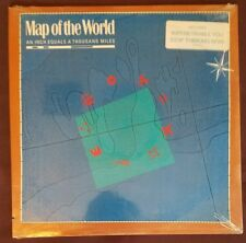 Map of the World LP An Inch Equals A Thousand Miles sealed new w/ song sticker