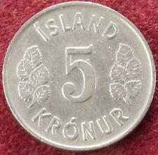 Iceland 5 Kronur 1974 (C1610)