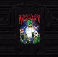 Rare AUTOPSY-Severed Survival T-Shirt Black Men Short Sleeve Concert S-4XL KL111