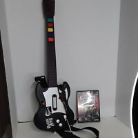 PS2 Playstation Guitar Hero Gibson Red Octane Wired Controller  WITH NO ISSUE