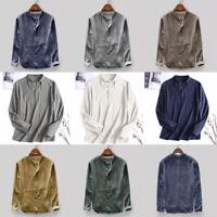 Fashion Men Luxury Shirts Casual Stylish Slim Fit Long Sleeve Dress T Shirt