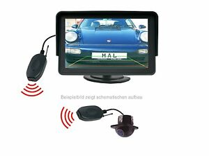 """Substructure Rear View Camera 4.3 """" Monitor Funkübertrager Fits for Honda"""