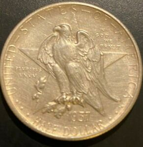 1937-S Texas Centennial Commemorative Half Dollar