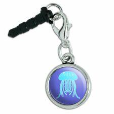 Cute Jellyfish Tentacles Ocean Mobile Cell Phone Headphone Jack Charm