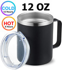 12oz Coffee Mug Stainless Steel Tumbler Vacuum Double Wall Insulated Travel Cup