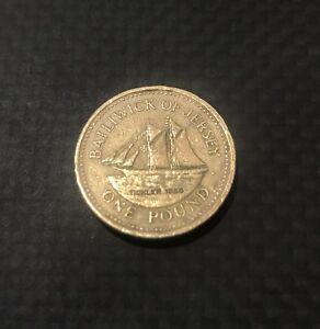 RARE £1 ONE POUND BRITISH COINS - RARE EDINBURGH POUND COIN N COLLECTOR COINS
