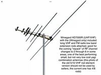 Winegard Antennas For HDTV - Free Information & Advice / Also Local Site Testing