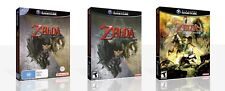 The Legend of Zelda Twilight Princess Game Cube Case + Box Art Work No Game