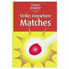 More details for strike anywhere matches pack of 10 boxes happy shopper brand discontinued