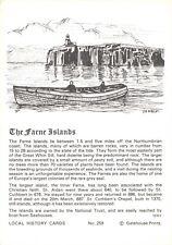 Postcard Local History Card The Farne Islands Northumberland Gatehouse Prints
