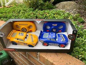 LIGHTNING McQUEEN REMOTE CONTROL Pixar Twin Pack CARS 3 NIB RC 6""