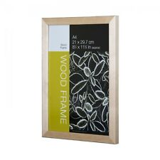 Nielsen Starfish Naturals Plexi Glass A2 Solid Birch Picture Frame