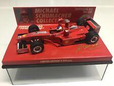 New listing Minichamps 1998 Michael Schumacher Ferrari F 300 Tower Wing #3 1:43 MIB •