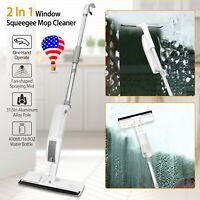 Home Window Scraper Cleaning Glass Squeegee Cleaner Mop Wiper Brush Tool Car US