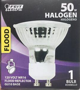 Feit Electric Q50MR16/GU10 50-Watt Halogen MR16 Bulb GU10 Base