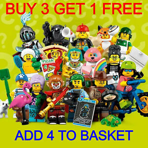 LEGO 71025 SERIES 19 MINIFIGURES (PICK YOUR MINIFIGURE) BUY 3 GET 1 FREE!!