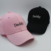 Daddy Embroidery Dad Hat Cotton Adjustable Baseball Cap Unconstructed Hat Hot